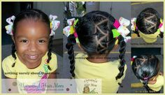 Little Girl Natural Hairstyles. Toddler Natural Hairstyles.