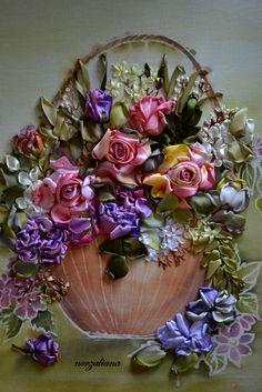 Ribbon Petals: Kelas di Kelopak Gallery  Absolutely beautiful!!