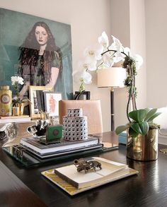 desk inspiration | More lusciousness at myLusciousLife.com