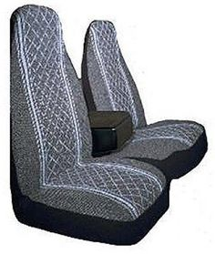 Allison 67-1917GRY Gray Diamond Back 60/40 Split Truck Seat Cover ( Pack of 2) - http://droppedprices.com/truck/allison-67-1917gry-gray-diamond-back-6040-split-truck-seat-cover-pack-of-2/