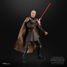 Star Wars The Black Series Count Dooku Action Figure - Entertainment Earth Star Wars Clone Wars, Count Dooku, Battle Droid, The Next Big Thing, Star Wars Toys, Black Series, Popular Culture, Counting, Action Figures