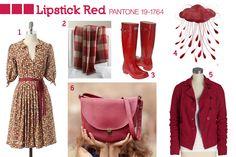 Pantone Fall 2010: Lipstick Red