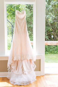 Essense of Australia Wedding Dress. Summer Wedding, Stouffville, Ontario