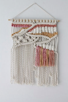 74 Beautiful Wall Hanging Macrame Ideas https://www.futuristarchitecture.com/14035-macrame.html