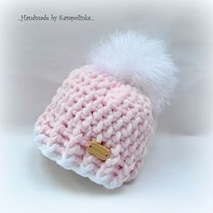 Another cute baby hat. this one's preemie size. all patterns free. Another cute baby hat. this one's preemie size. all patterns free. Crochet Preemie Hats, Crochet Yarn, Free Crochet, Ravelry Crochet, Baby Hat Patterns, Crochet Patterns, Bernat Yarn, Blanket Yarn, Baby Girl Crochet