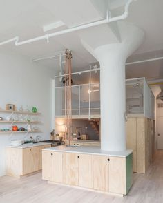 """Gefällt 1,119 Mal, 4 Kommentare - Dana Tomic Hughes (@yellowtrace) auf Instagram: """"Located in a former industrial space, the transformative interior renovation of Bed-Stuy Loft in…"""""""
