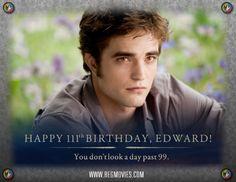 Born on this day in 1901: Edward Cullen HBD EC! #Twilight #BreakingDawn