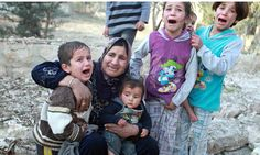 Poor Syrian families are left no where