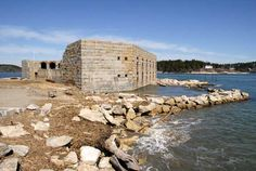 old military forts maine at DuckDuckGo The Spanish American War, Casco Bay, Old Fort, Phippsburg Maine, Historical Sites, Vacation Destinations, Touring, Places To Go, Forts