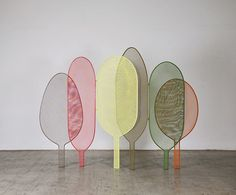 Les separateurs d'espaces : Woodland, Alessandra Baldereschi (Seletti).