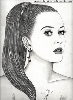 #katy #perry All my drawings on  http://titeelfe.bloxode.com/ #illustration