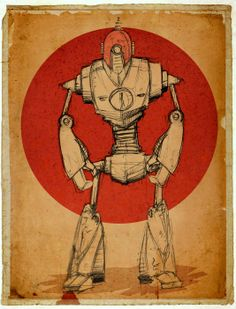 A robot sketch just for fun.