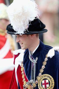 The Duke of Cambridge attends the Order of the Garter ceremony June 16, 2014