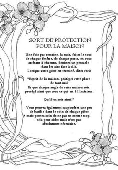 1000 images about b o s spell ritual on pinterest for Sourate protection de la maison