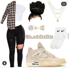 Cute Lazy Outfits, Baddie Outfits Casual, Swag Outfits For Girls, Teenage Girl Outfits, Cute Swag Outfits, Cute Outfits For School, Nike Outfits, Teen Fashion Outfits, Trendy Outfits