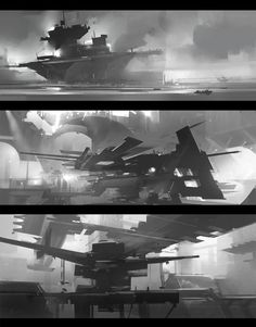Jama Jurabaev: is a senior concept and matte artist | Sketches