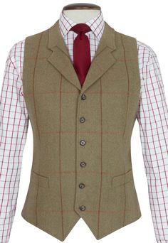 Mens Tweed Suit Inverness Pure New Wool Woven Scottish Fabric Green Check 38-50