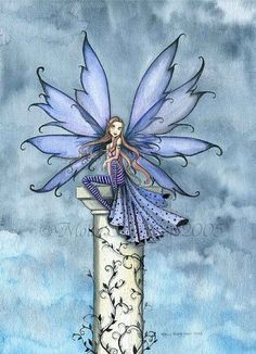 The Fairy Art and Fantasy Art of Molly Harrison: Official Gallery and Shop Fairy Dust, Fairy Land, Fairy Tales, Gothic Fantasy Art, Fantasy Artwork, Fairy Pictures, Love Fairy, Mystique, Mermaid Art