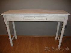 Vintage - francuzky pisaci stol - konzolovy stol 120cm - 1