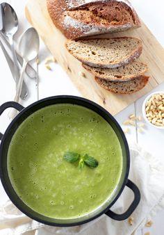 Almost Skinny Vegan FoodSweetcorn, Pea  Tofu Soup Vegan