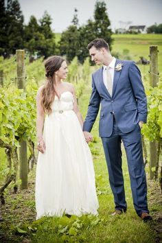 Vineyard weddings are very popular and romantic because of beautiful venues you can find. That's why many brides choose a romantic vintage gown for such an affair. Ruffles, mermaid silhouettes, beads,lace and long trains look gorgeous ...