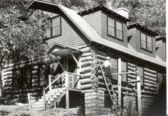 Garden House rebuilt, Wendover, KY. FNS photo.