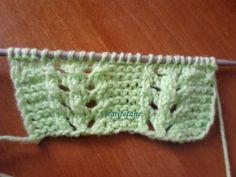 örgü örneği, ajur modeli, knitting pattern, knit http://www.marifetane.com/2015/04/acklamal-kolay-ajur-ornegi.html
