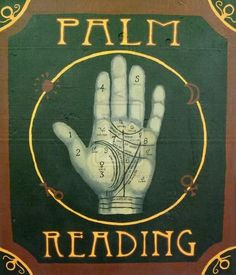 How To Be A Palm Reader 101