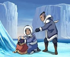 When you find a boy frozen in an iceberg, the first thing you need to do is poke him in the head.