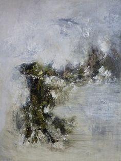 o.T 2014-01   Acryl auf Leinwand   80x60 cm