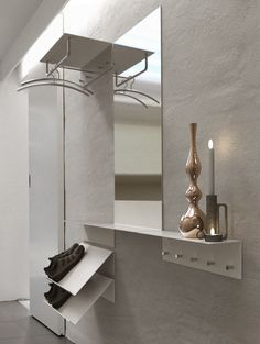 1000 images about garderobe on pinterest vitra hang it for Garderobenpaneel edelstahl
