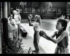 Kaatsenballen. Dat was in 1986 en 1987 heel erg in. Deden bijna alle meisjes bij ons op school elke pauze...