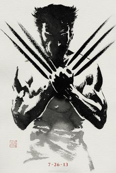 PLEASE be better than the X-Men: Origins movie. I'm begging you. THE WOLVERINE Teaser Poster and Web Chat!