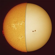 Two Stunning faces of Our Sun.    Image credit:  NASA/JPL-Caltech
