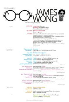 Visual CV. #visualcv #resume   // W E R K S H O P P E ...