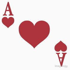 'Ace of Hearts' T-Shirt by imagology Ace Of Hearts, Alice In Wonderland, Finding Yourself, Lovers, Fun Stuff, Unique, Cards, T Shirt, Design