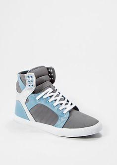 Metallic Gray High Top Sneaker | rue21