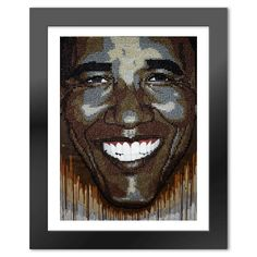 "President Obama ""Wet Paint"""