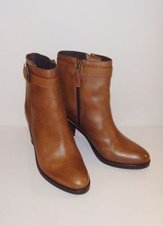 Kup mój przedmiot na #vintedpl http://www.vinted.pl/damskie-obuwie/botki/21096869-wymiana-400-zl-nowe-bruno-premi-botki-na-klocku-brazowe-skora-naturalna-37