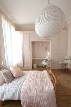 La rénovation d'un hôtel particulier – PLANETE DECO a homes world – Rideaux – einrichtungsideen wohnzimmer Small Room Bedroom, Home Decor Bedroom, Living Room Decor, Bedroom Furniture, Furniture Sets, Design Room, Interior Design Living Room, Living Room Designs, Design Scandinavian