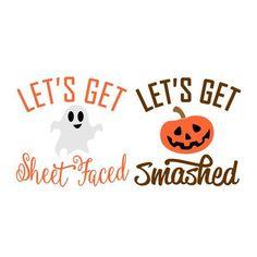 Let's Get Halloween Cuttable Design Halloween Cups, Halloween Projects, Fall Halloween, Halloween Designs, Halloween Vinyl, Halloween Queen, Halloween Clipart, Halloween Stuff, Halloween Decorations
