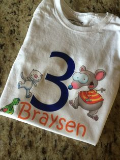 Toopy and Binoo Custom Birthday Shirt (Esty link.) I'm saving for placement ideas for our annual birthday shirt. Baby Boy Birthday, 4th Birthday, Birthday Parties, Birthday Ideas, Party Themes, Theme Ideas, Party Ideas, Gift Ideas, Custom Birthday Shirts