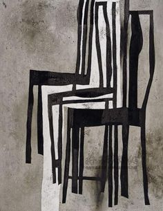 'Chair' (1991) by Chinese artist Wang Huai Qing. via Azurebumble