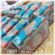 Happy Day Mango soap by Eleni