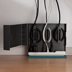 Product - Plug Hub - hides power strip and cord in one unit