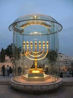 Menorah In Israel , Jerusalem, Third Temple