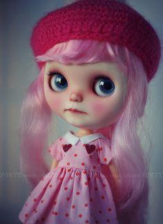 A Doll A Day. Jul 8. p.s. I love you. by Forty Winks Doll Studio, via Flickr