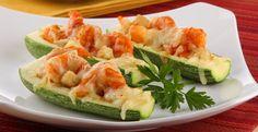 Encuentra la receta para unas calabacitas con camarón