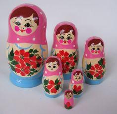 Matryoshka dolls...my new found love!!