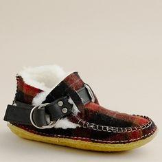 quoddy tweed ring boots, more via j.crew